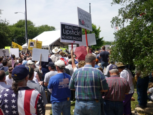 Don't Mess with Texas Tea Party, Austin