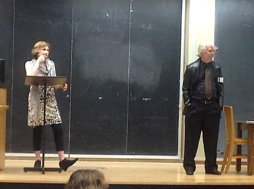 Laura Kipnis and Thomas Hubbard at UT Austin